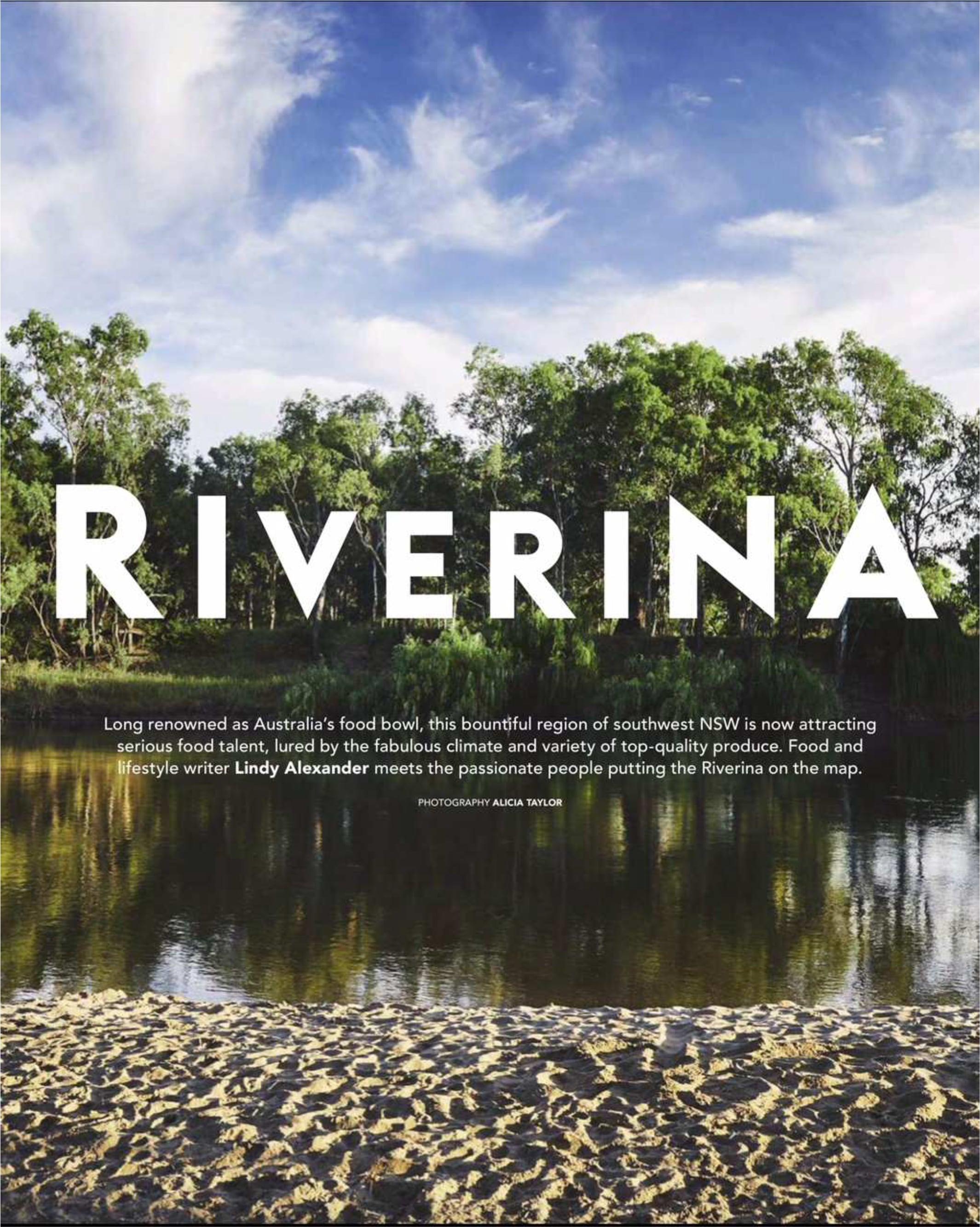 Delicious Riverina -