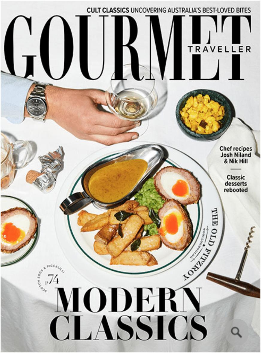 Gourmet Traveller -