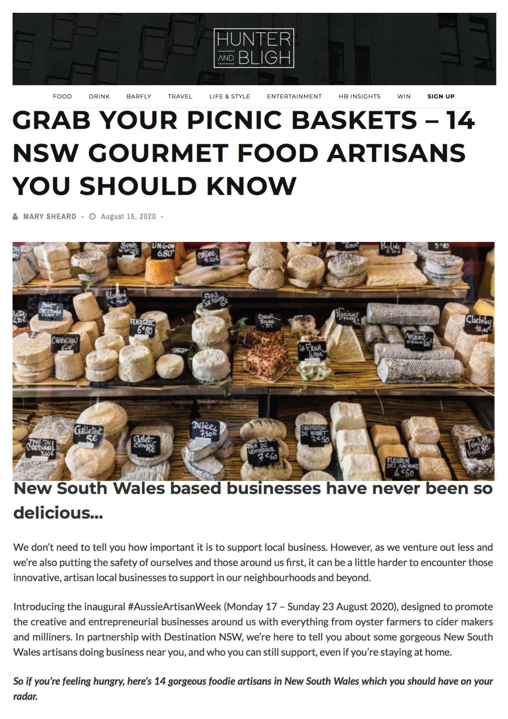 Grab your Picnic Baskets »